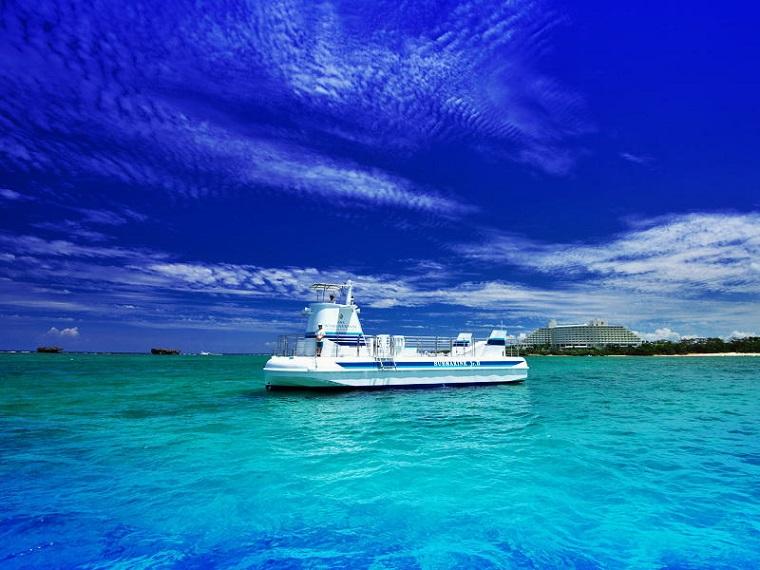沖縄旅行で子供が喜ぶ観光体験|サブマリン Jr. Ⅱ