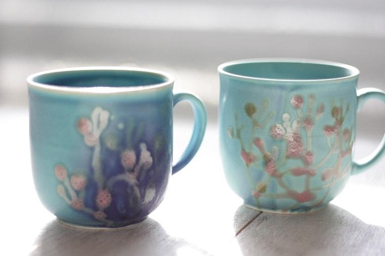 母の日のプレゼントに沖縄らしいカップの贈り物